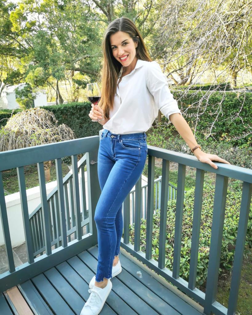 Marciel jeans wit hemp