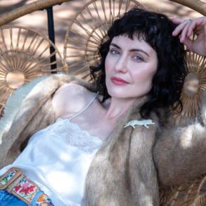 Rolanda Marais vintage jas en kamisool